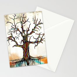 Tree of Many Colors Stationery Cards