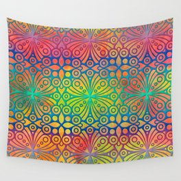 DP050-3 Colorful Moroccan pattern Wall Tapestry