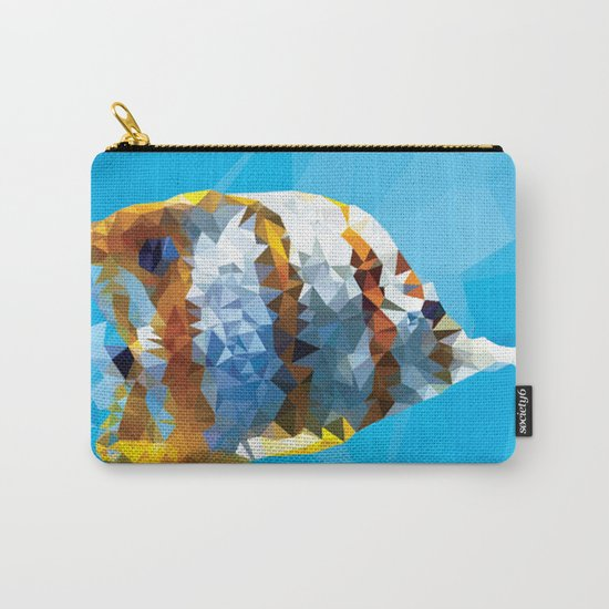 Fractal Fish Carry-All Pouch