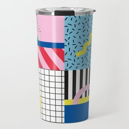 Memphis Party Travel Mug
