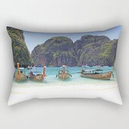 Maya Bay, Phi Phi Island Leh, Thailand Rectangular Pillow