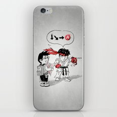 Hadoken? iPhone & iPod Skin