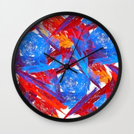 Original Abstract Duvet Covers by Mackin & MORE Wall Clock