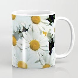 Daisies explode into flower Coffee Mug