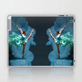 -O1- Blue Ballet Dancer Deep Feelings. Laptop & iPad Skin