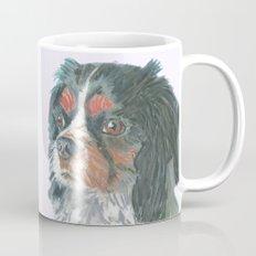Cavalier King Charles Spaniel , Jiri Bures original art and design Mug