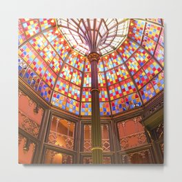 Louisiana Old State Capitol Building Metal Print