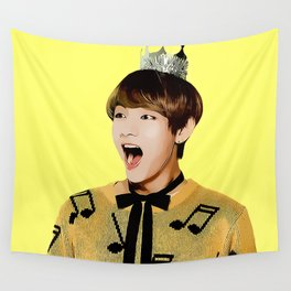 Comic Tae Wall Tapestry