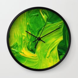 Lapeda Textile Art - 12 Wall Clock