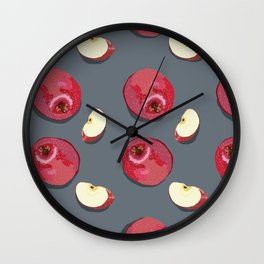 How Bout Them Apples? Wall Clock