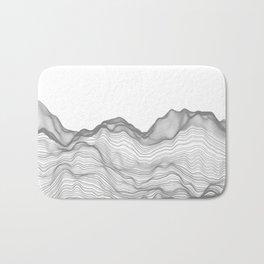 Soft Peaks Bath Mat