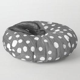 Poppy and polka dot S54 Floor Pillow