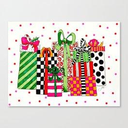 Presents! Canvas Print