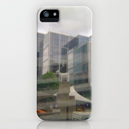 A Goat in the Middle iPhone Case