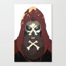 Skullbeard Canvas Print