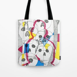 Skulls & Buddha No.36 Tote Bag
