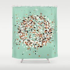 spheres 3 Shower Curtain