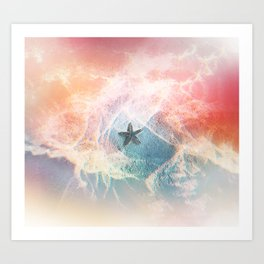 Starfish Dreams Art Print