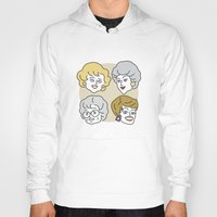 golden girls Hoodies featuring Thank You for Being a Friend (Golden Girls) by Marcelo Galvao