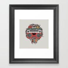 Radioinactive Framed Art Print