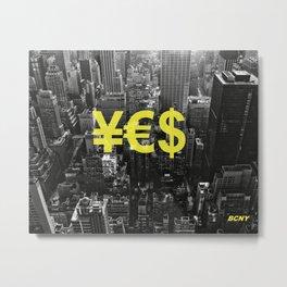 YES NYC Metal Print