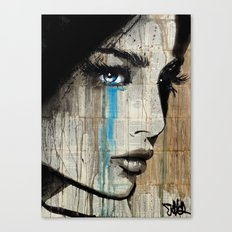 BLUE HUNGER Canvas Print