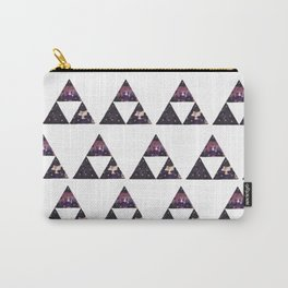 Floral Triforce Carry-All Pouch