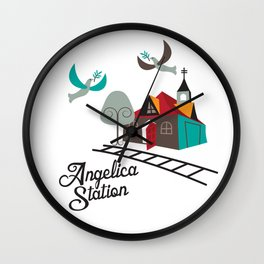Angelica Station Wall Clock