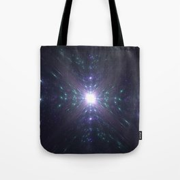 Looking at the Universe Through a Diamond Tote Bag