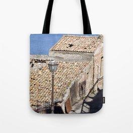"Old Abandoned Farmhouse - Sicily - ""Vacancy"" zine  Tote Bag"