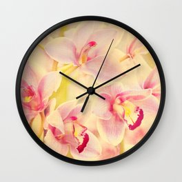 Orchid Melody Wall Clock
