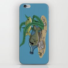 The Fish and the Bottle iPhone & iPod Skin