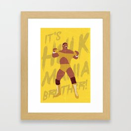 Can You Feel It Brother? Framed Art Print