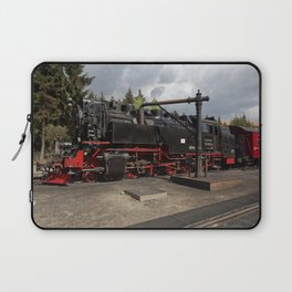Steam train for water refueling Laptop Sleeve