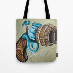 Double Barrel Tote Bag