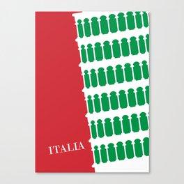 italia italy italic Canvas Print