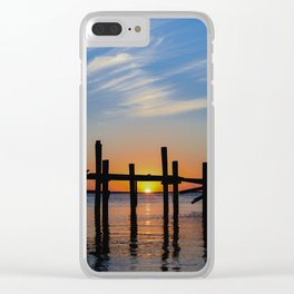 Sunset at Fernadina Beach Clear iPhone Case