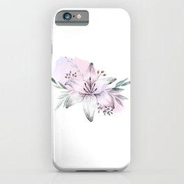 Lilium & Eucalyptus iPhone Case