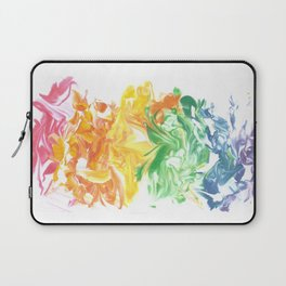 Rainbow Splat Laptop Sleeve