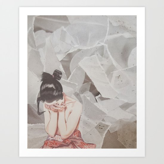 Composition IV: It's okay not to be okay Art Print