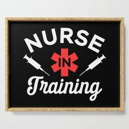 Funny Nursing Student Gift - Nurse in Training Serving Tray