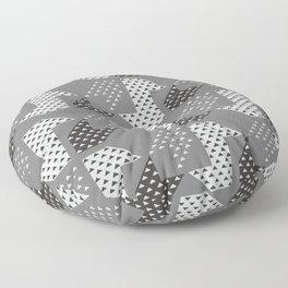 Clover&Nessie Gray/LightGray Floor Pillow
