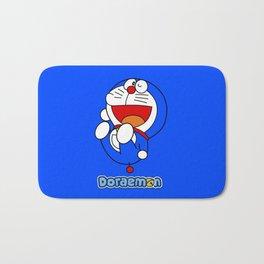 Doraemon cute smile 4 Bath Mat