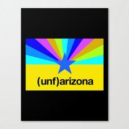 (unf)arizona Canvas Print
