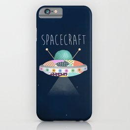 Spacecraft iPhone Case