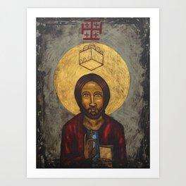 New Jerusalem Icon Art Print