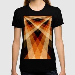 Autumn Groovy Checkerboard T-shirt