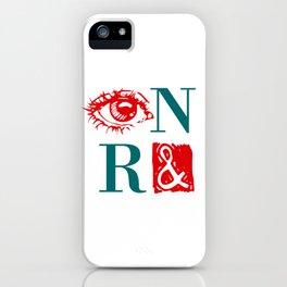 Randian Rebus iPhone Case