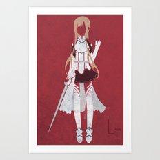 Asuna Art Print
