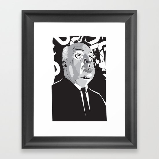 Hitchcock Framed Art Print